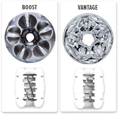 Fleshlite Quickshot Textures: Boost vs. Vantage