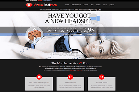 Virtual Real Porn - VR sex videos