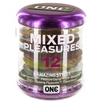 ONE Mixed Pleasure Condoms