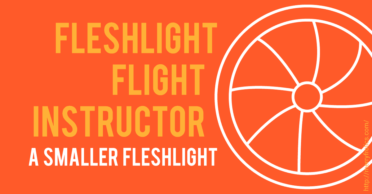 Fleshlight Flight Instructor: A Smaller Fleshlight