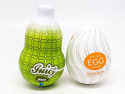 Tenga Egg vs. Juicy Mini Masturbator