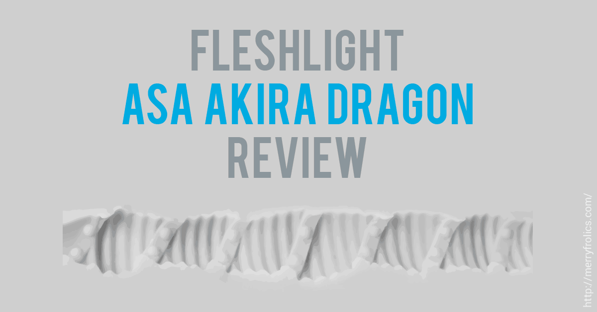 Fleshlight Asa Akira Dragon Sleeve Review