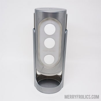 Tenga Flip Hole Silver case with tracks