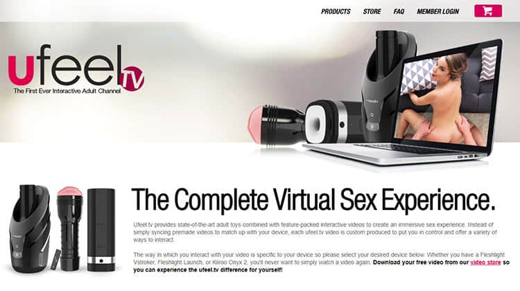 Fleshlight Launch Interactive Porn - Ufeel.tv
