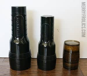 Fleshlight sizes: Full-size Fleshlight Next to Go Surge and Quickshot