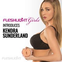 Fleshlight Kendra Sunderland Banner
